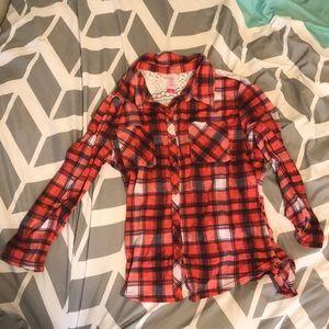 Cute No Boundaries Flannel